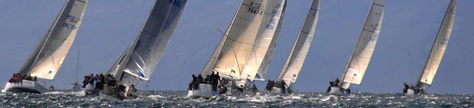 Racing at Scottish Series