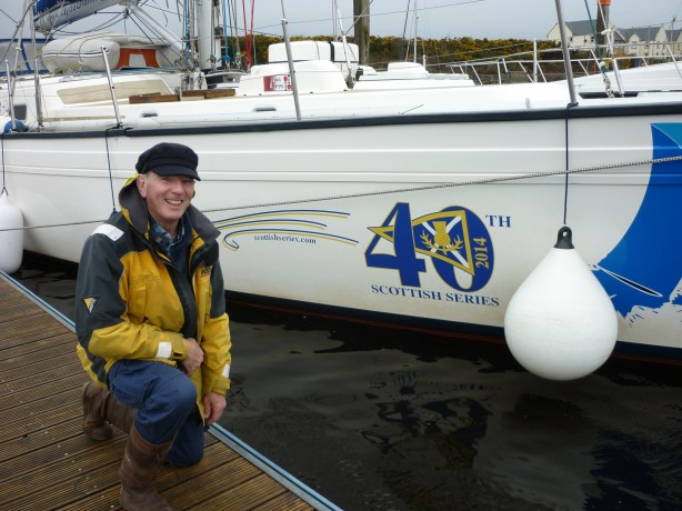 Patrick Trust, Commodore with Clyde Challenger for Silvers Marine Scottish Series